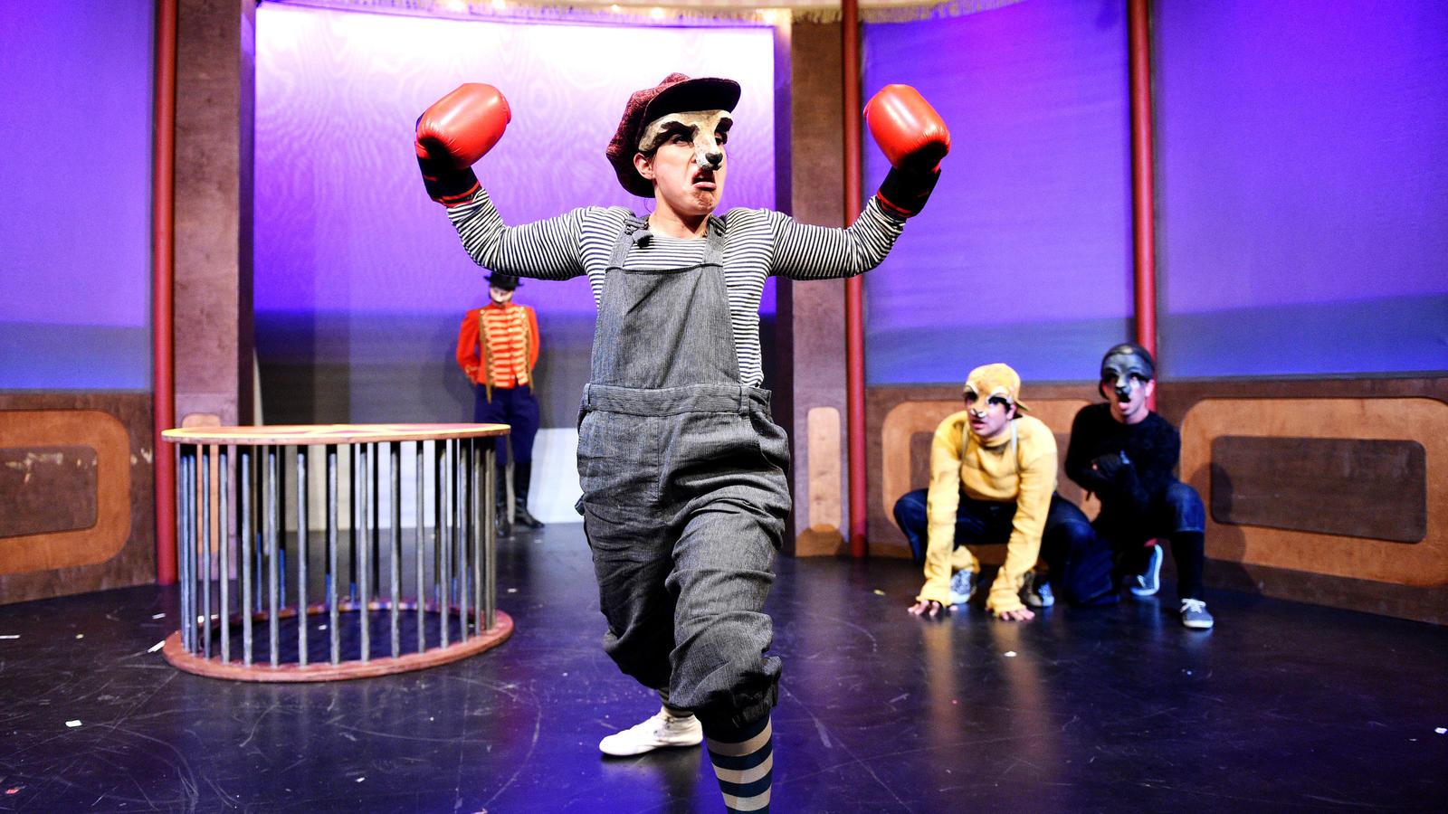 Das Theaterstück 'Ein Känguru wie Du'