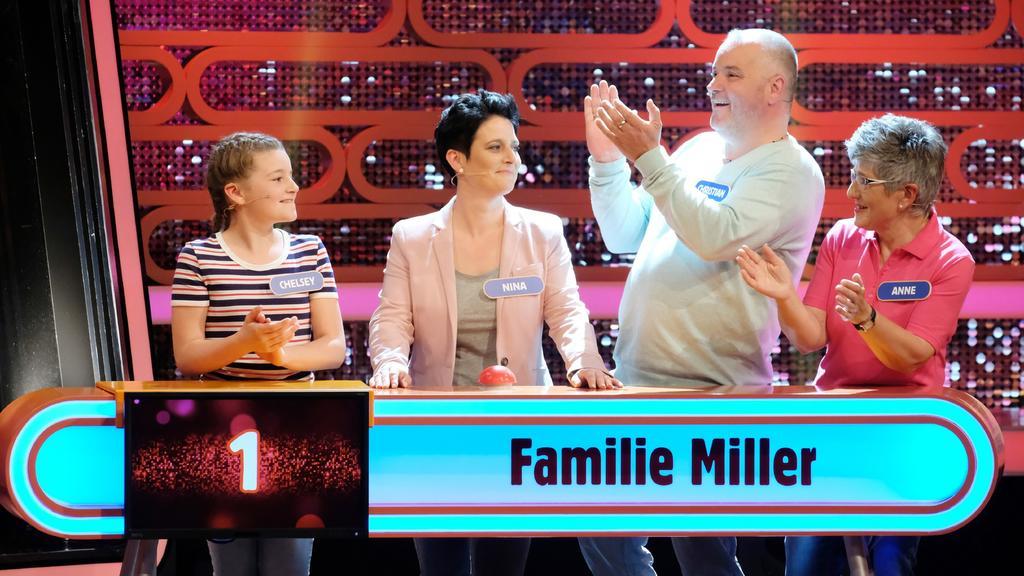 Familie Miller (v.l.): Chelsey, Mama Nina, Papa Christian und Oma Maria-Anne