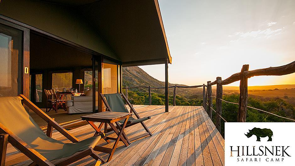 "Die Dreamdate-Lodge ""HillsNek Safari Camp"" in Südafrika."