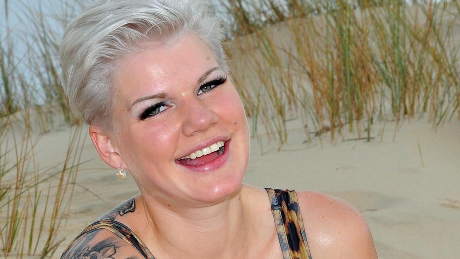 Model Melanie Müller