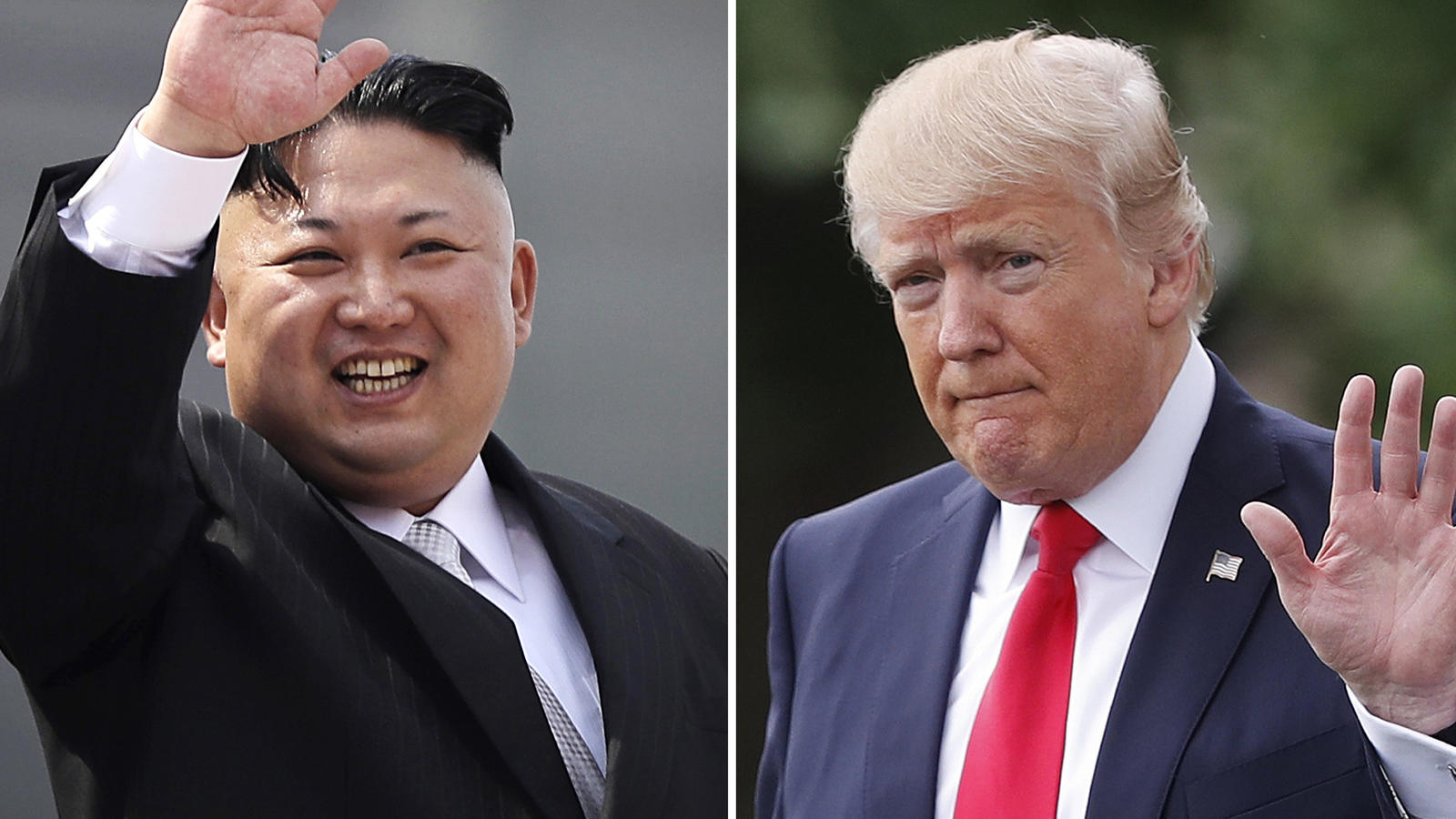 Der nordkoreanischeStaatschef Kim Jong Un und US-Präsident Donald Trump drohen sich gegenseitig.