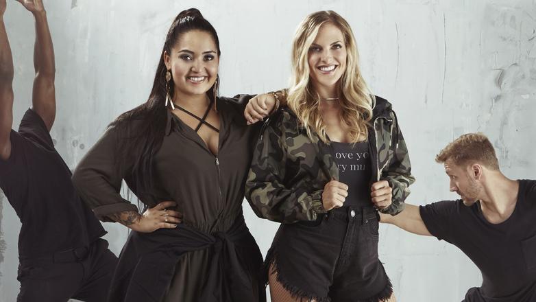 Die Sängerinnen Bahar Kizil (l.) und Sandy Mölling.