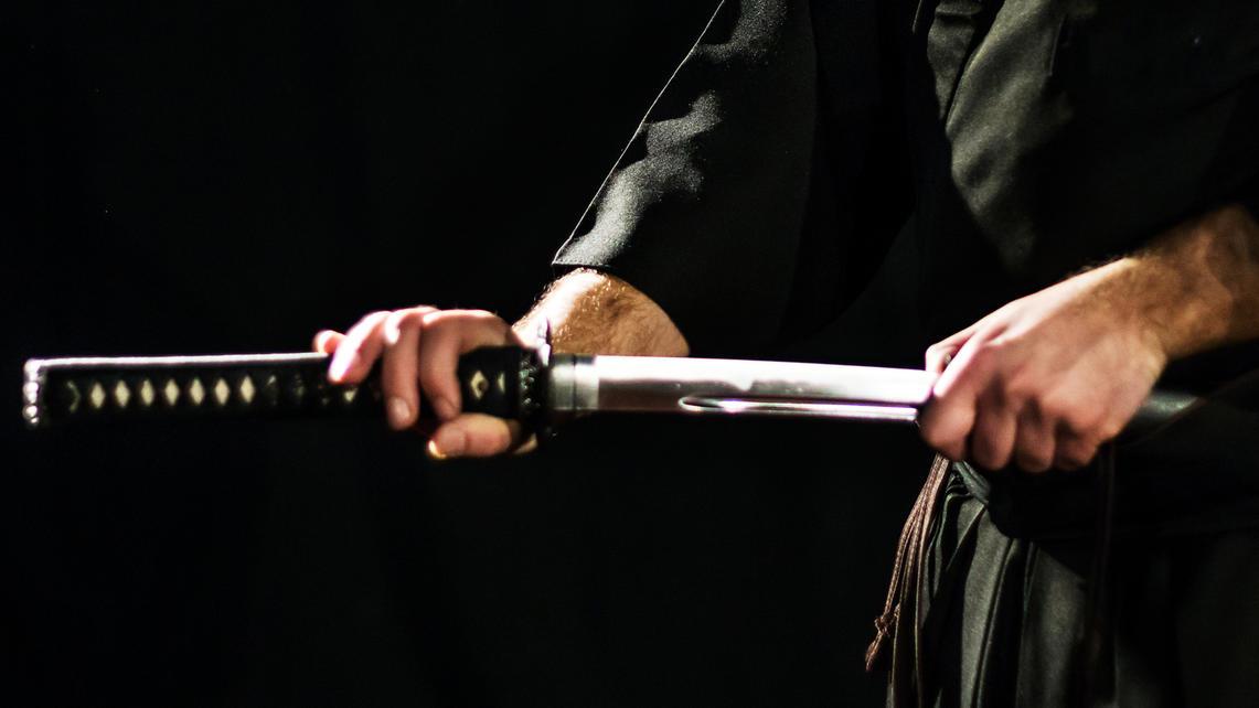 Schwert Angriff