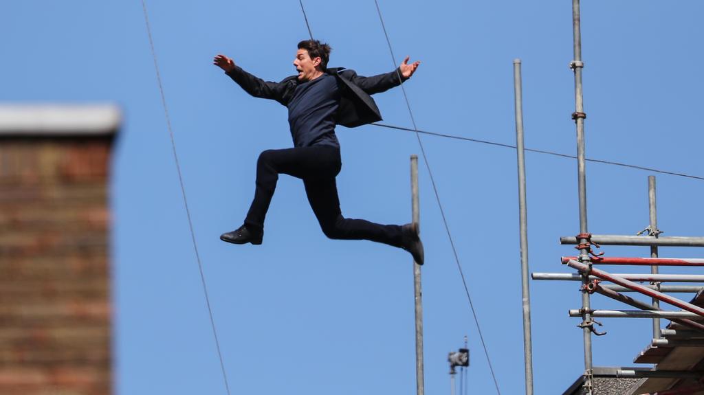 Tom Cruise ist dafür bekannt, seine eigenen Film-Stunts zu performen.