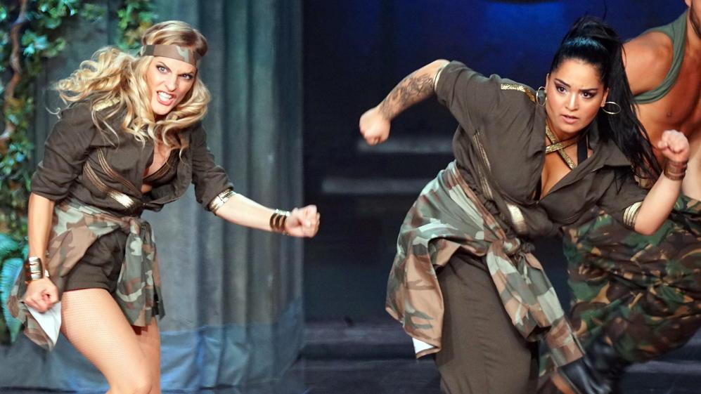 Dance Dance Dance 2017 Sandy Mölling Und Bahar Kizil Holen In Show