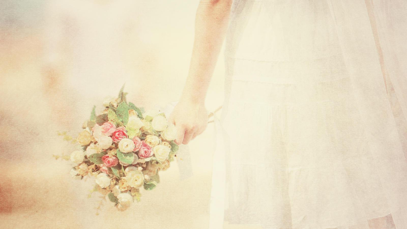 Der Brautstrauß ist elementarer Bestandteil der Brautoutifts.