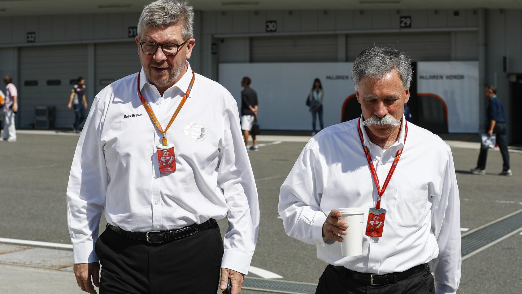 Ross Brawn und Chase Carey sind gefordert, die F1 einmal auf links zu drehen
