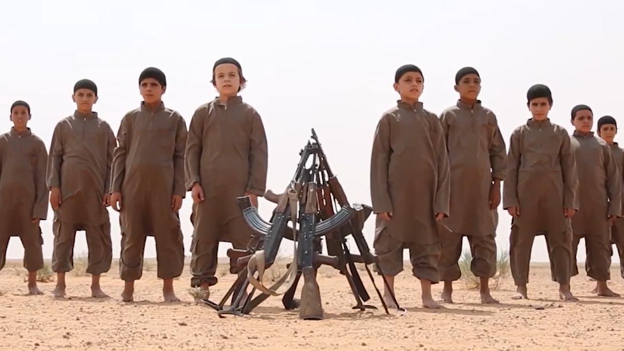 Bild aus einem Propagandavideo des Islamischen Staats.
