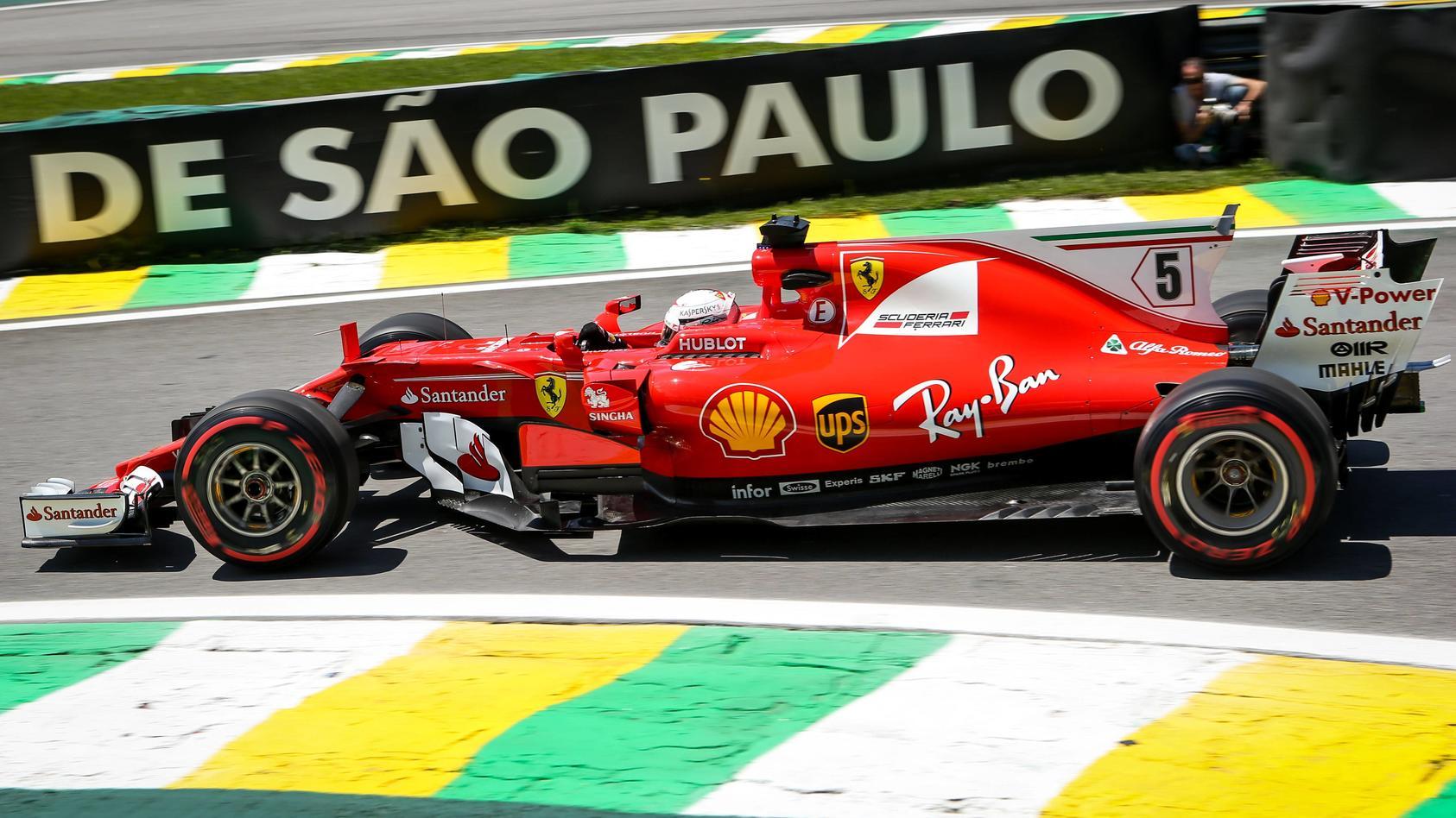 Motorsports FIA Formula One World Championship WM Weltmeisterschaft 2017 Grand Prix of Brazil 5 S