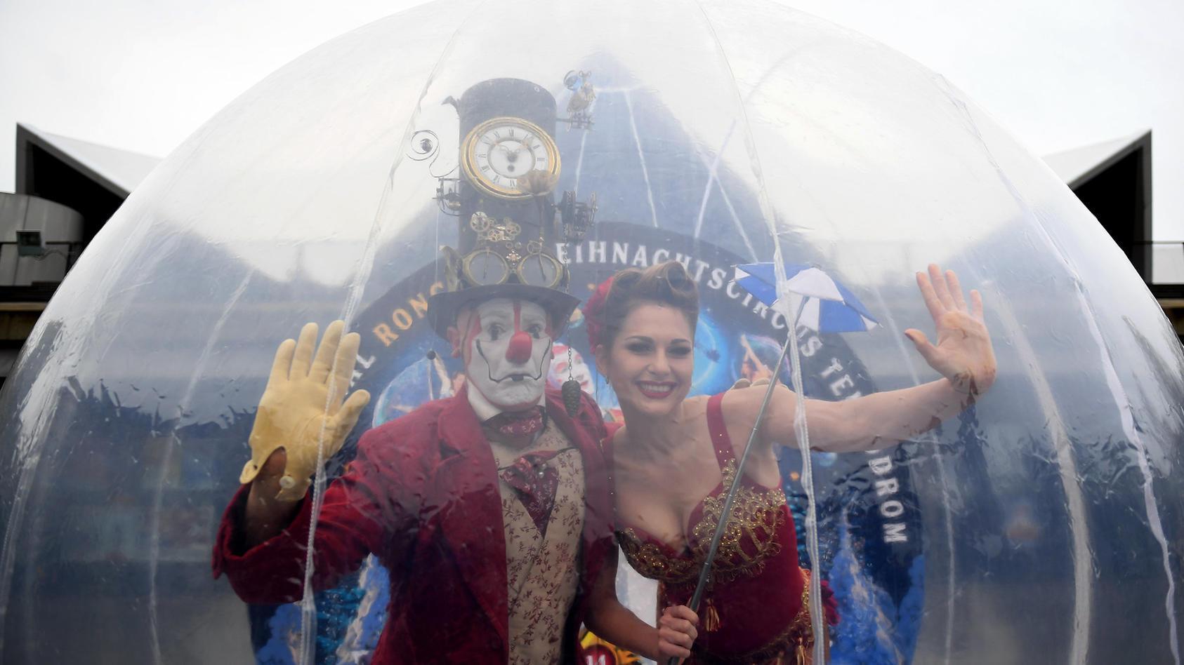 Mehr Akrobaten - keine Tiere: Das ist das Konzept des Zirkus Roncalli ab 2018.
