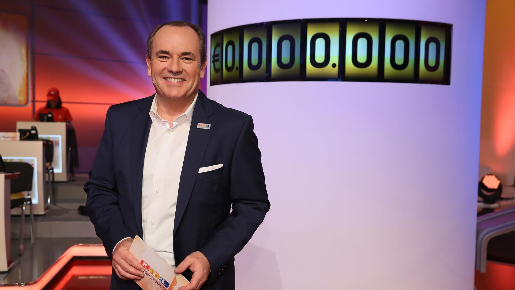 """Bereits zum 22. Mal startet Wolfram Kons die längste Charity-Sendung im deutschen Fernsehen und wird mehr als 24 Stunden lang Gelder für die """"Stiftung RTL - Wir helfen Kindern e.V."""" sammeln."""