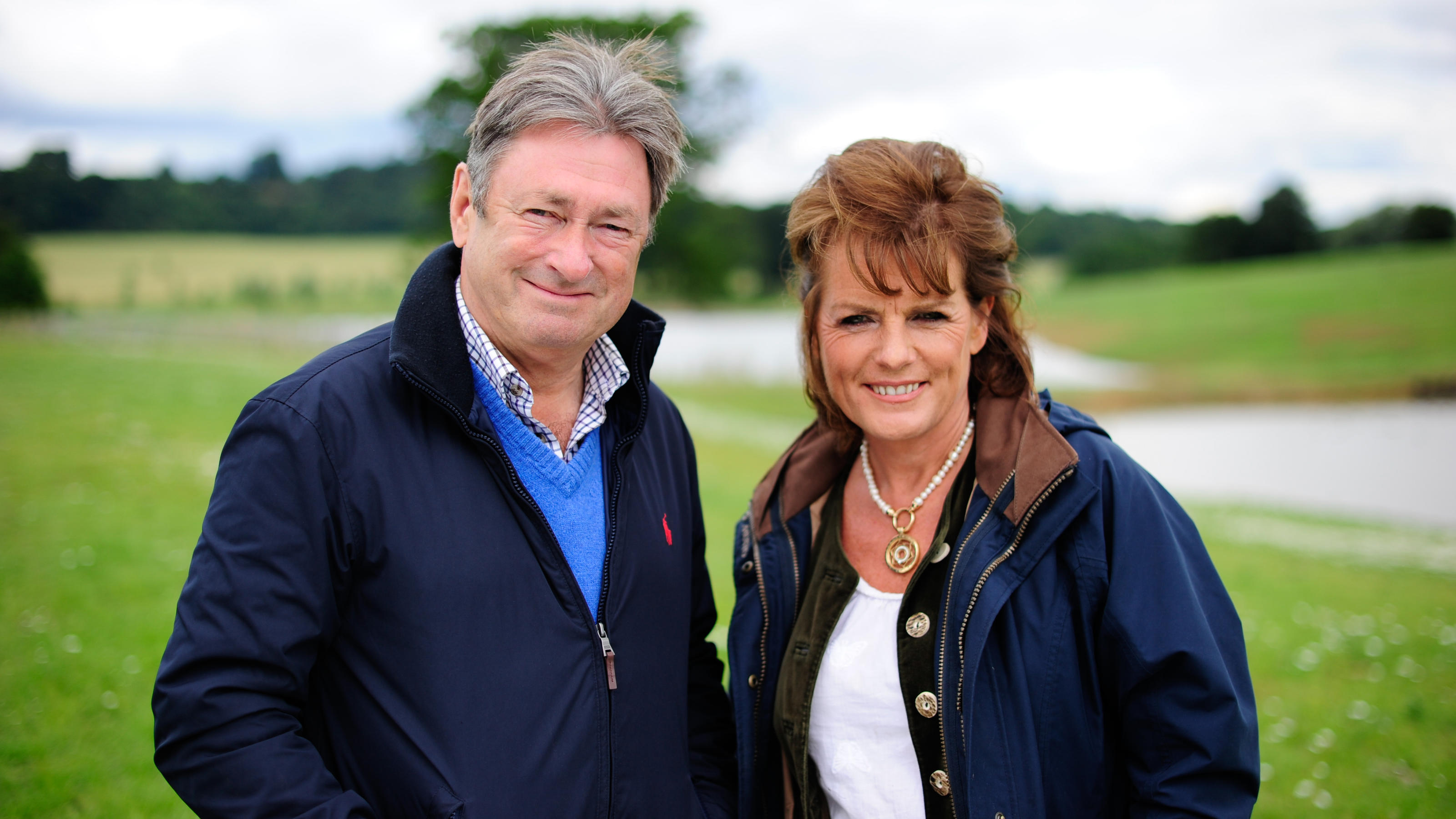 Capability Found Generic Alan Titchmarsh and Duchess of Rutland SpunGold and all3media