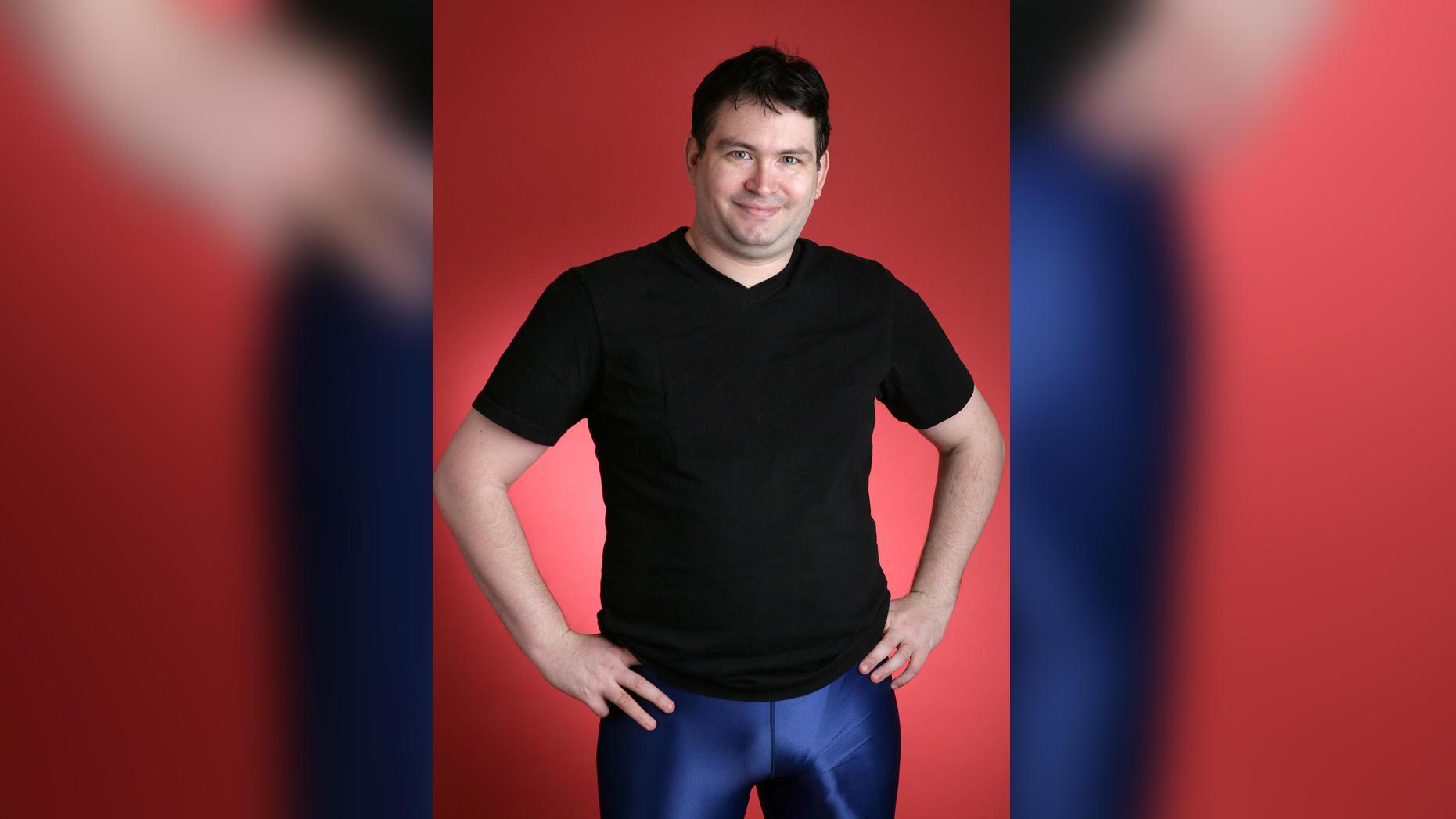ein mann mit zwei penis