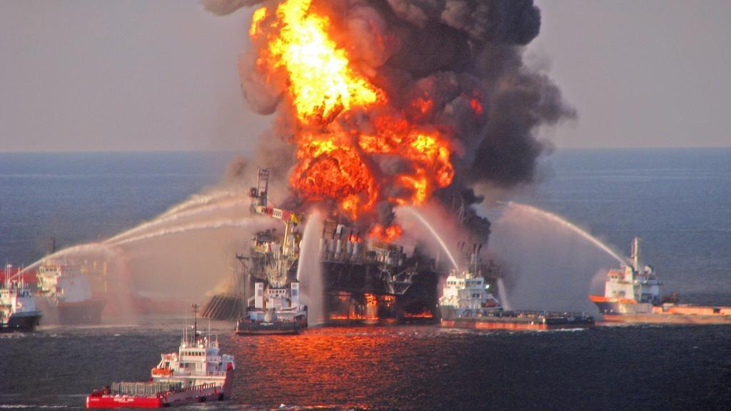 Apr 21, 2010 - U.S. - A fire aboard the mobile offshore drilling unit Deepwater Horizon located in the Gulf of Mexico 52 miles southeast of Venice, Louisiana. Rescue helicopters, ships and an airplane searched the waters off Louisiana s coast for mis
