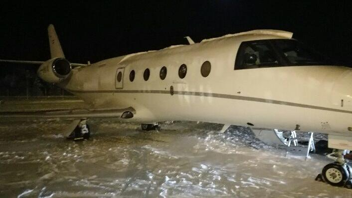 Schwerer Unfall auf dem Flughafen Kittilä