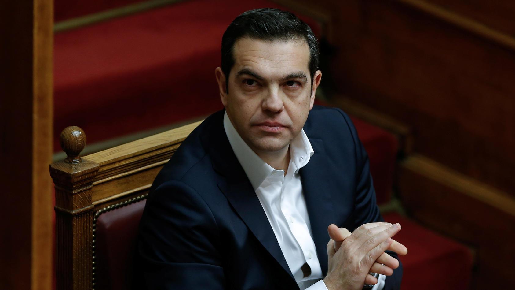 Blickt positiv in die Zukunft: Griechenlands Regierungschef Alexis Tsipras.