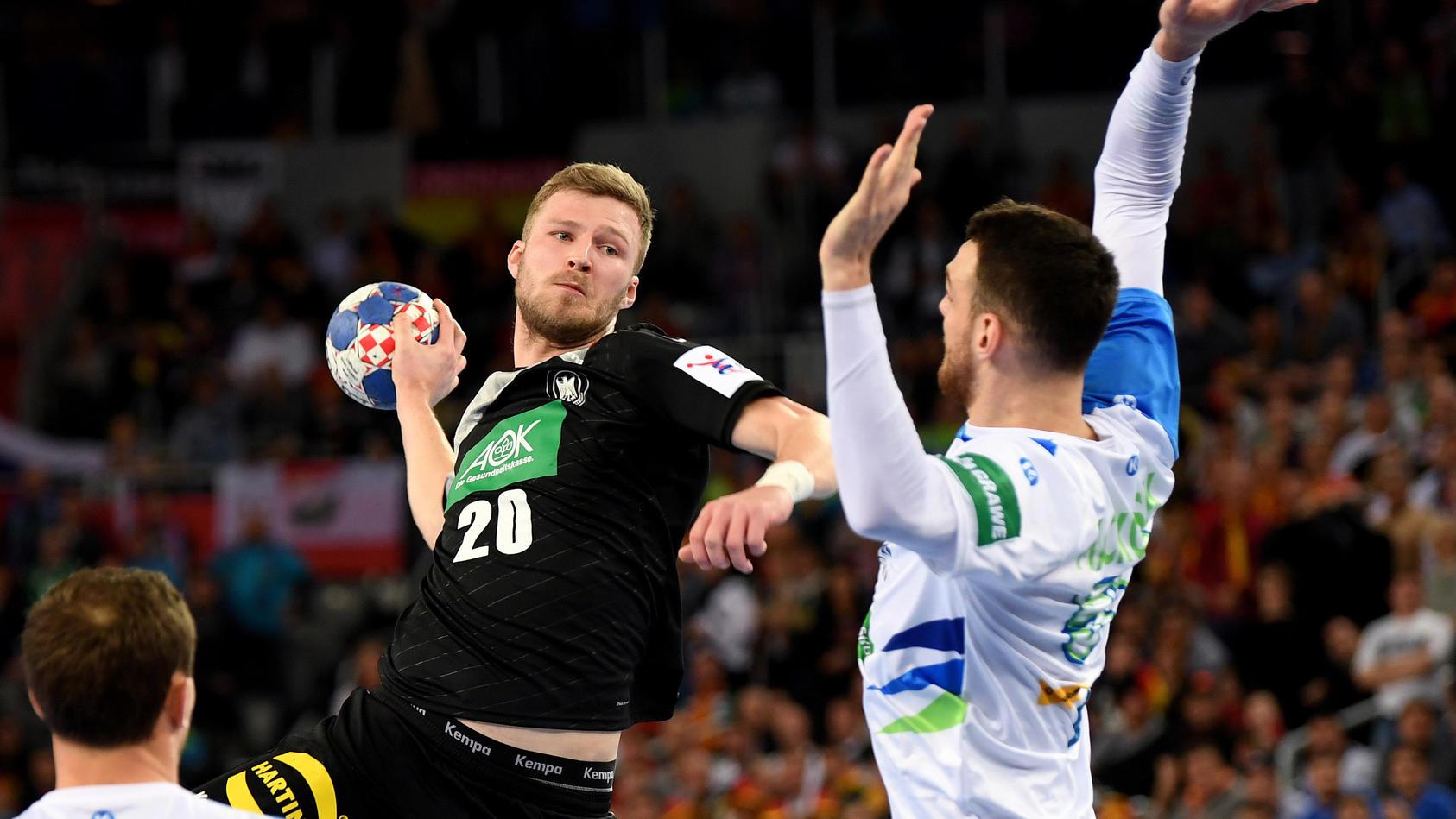 Das Nachspiel des Duells Deutschland gegen Slowenien ist vorbei