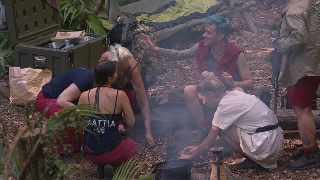 Dschungelcamp 2018: Die Promis im Camp am ersten Tag
