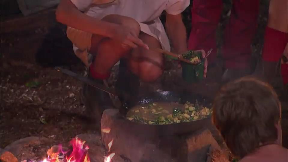 Im Dschungelcamp bedeutet jeder erspielte Stern zusätzliches Essen für die Promis