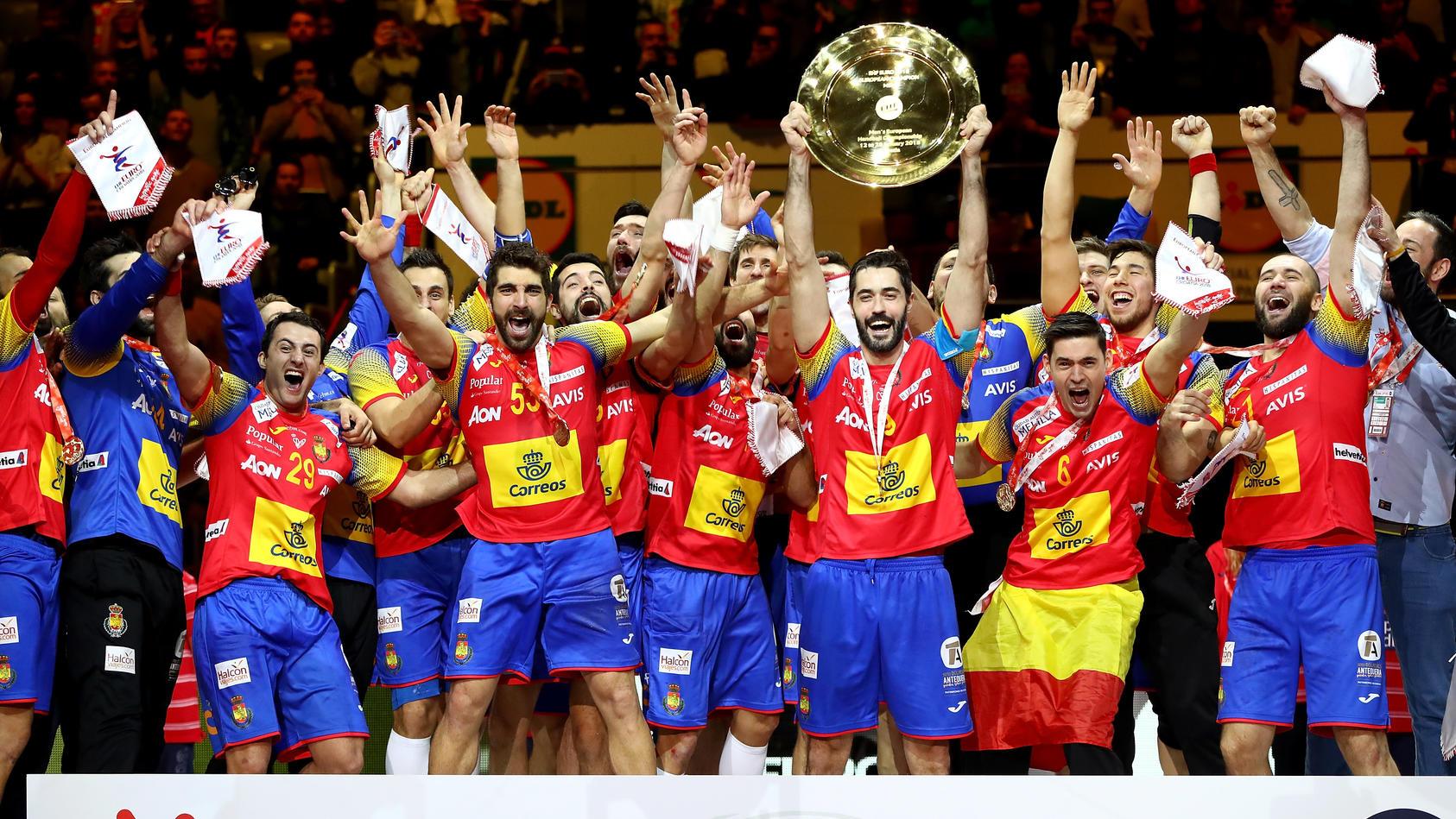 Für Spaniens Handballer  ist ein Traum wahr geworden.