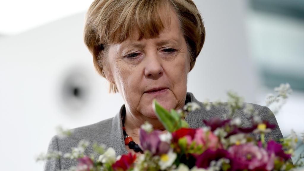 Berlin: Bundeskanzlerin Angela Merkel (CDU)