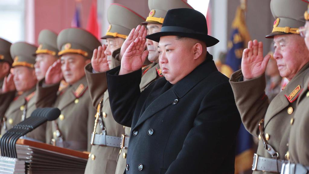 Kim Nordkorea