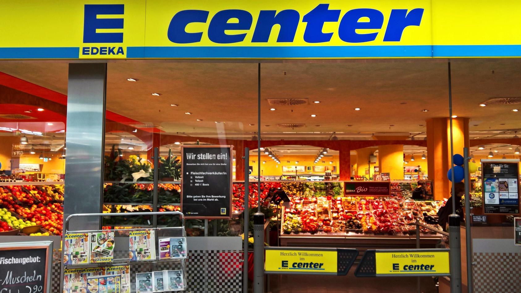 Setzt sich gegen Lebensmittelgiganten Nestlé zur Wehr: Die Supermarktkette Edeka