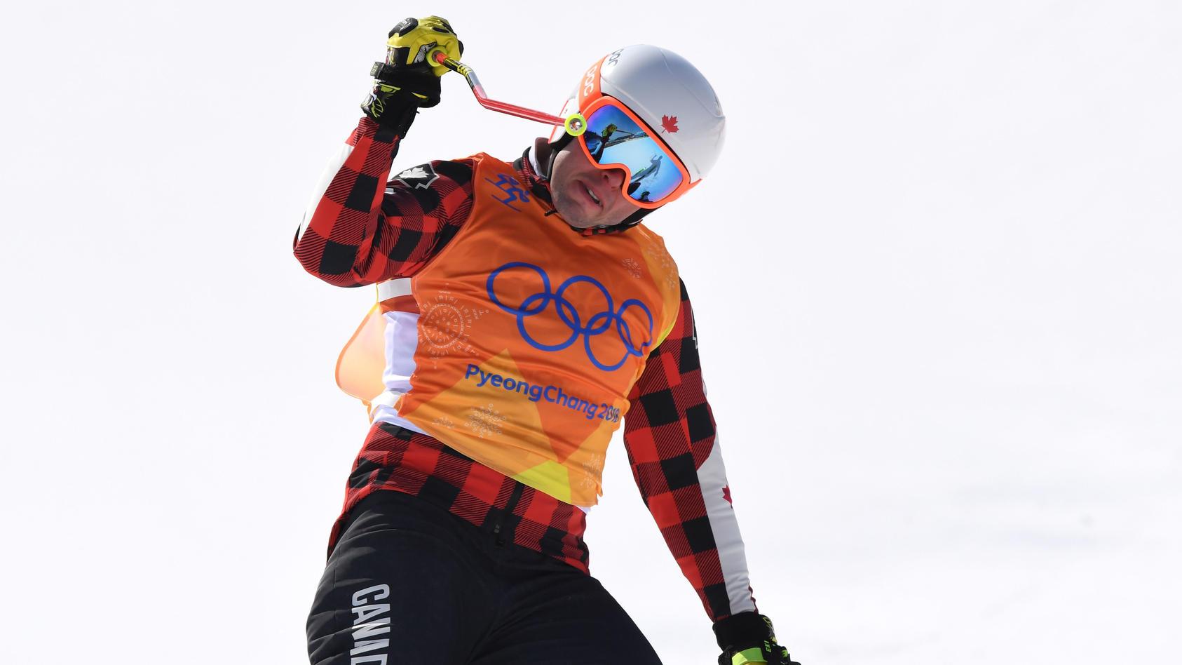 Im Olympischen Skicross belegte David Duncan den achten Platz.