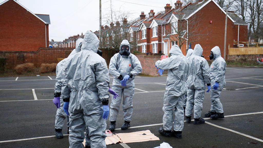 Ermittlungen in Salisbury
