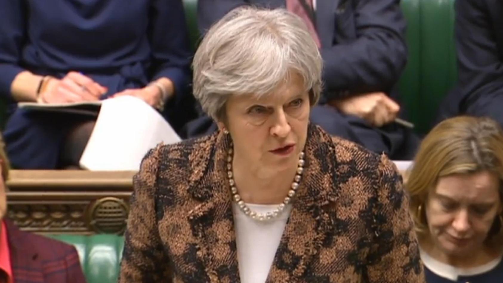 Die britische Premierministerin Theresa May gibt Russland die Schuld für den Anschlag auf den Ex-Spion Sergej Skripal.