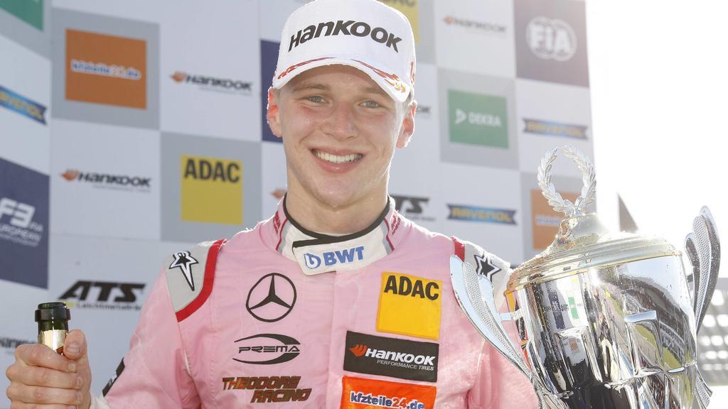 Maximilian Günther ist die Nummer 3 unter deutschen Rennfahrern