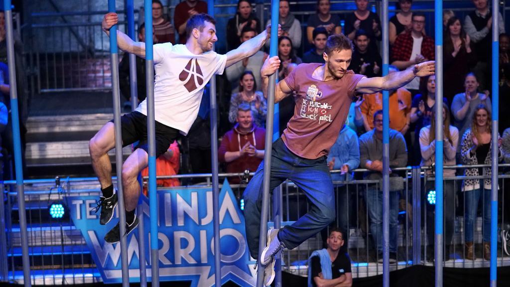 """Bei """"Team Ninja Warrior Germany"""" treten die Athleten in Teams an."""