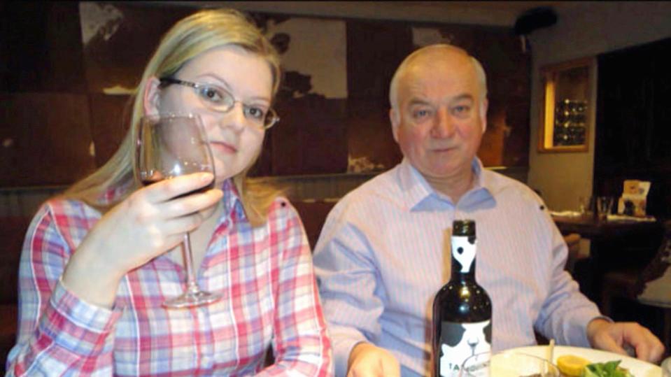 Julia und Sergej Skripal.