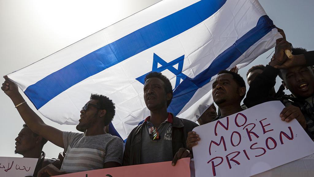 Proteste in Israel gegen die geplante Umsiedelung