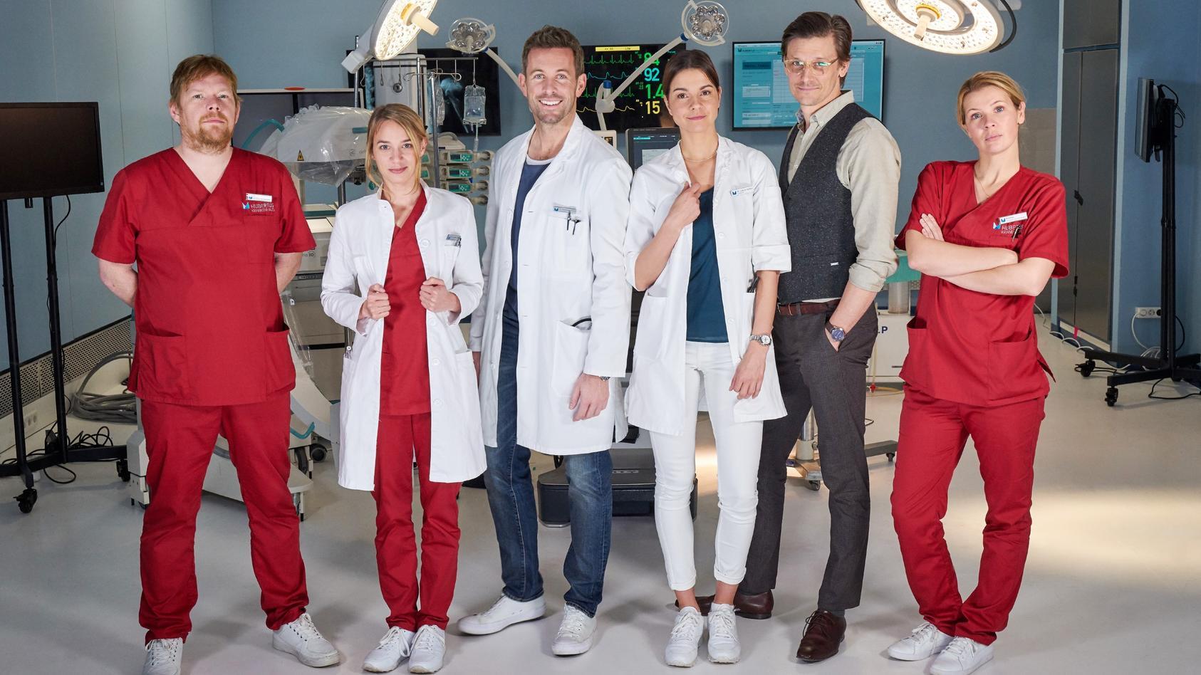 """Das Ärzte-Team in der neuen Medical-Serie """"Lifelines""""."""