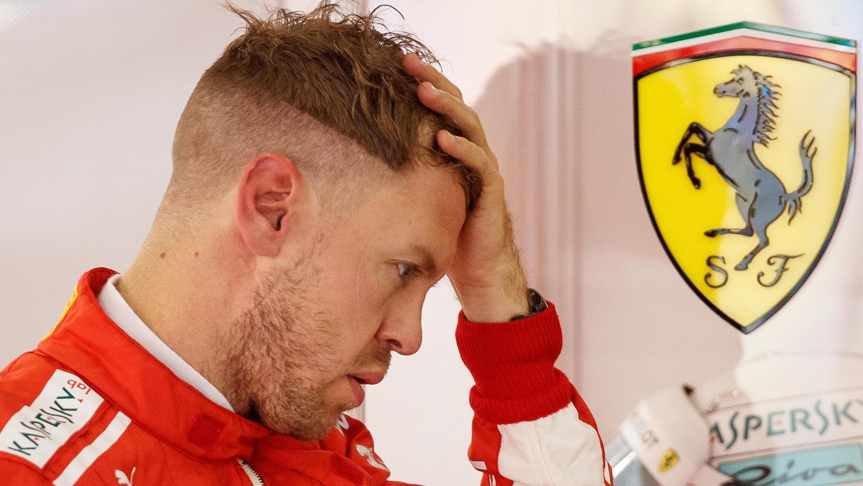 Sebastian Vettel wieder kurz geschoren