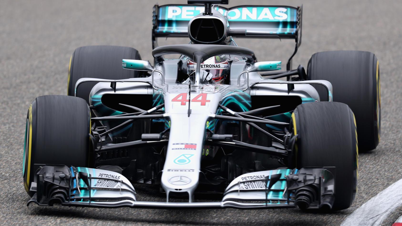 Lewis Hamiltons bisheriger Streckenrekord aus dem Vorjahr wurde gleich viermal geknackt - unter anderem auch von ihm selbst.