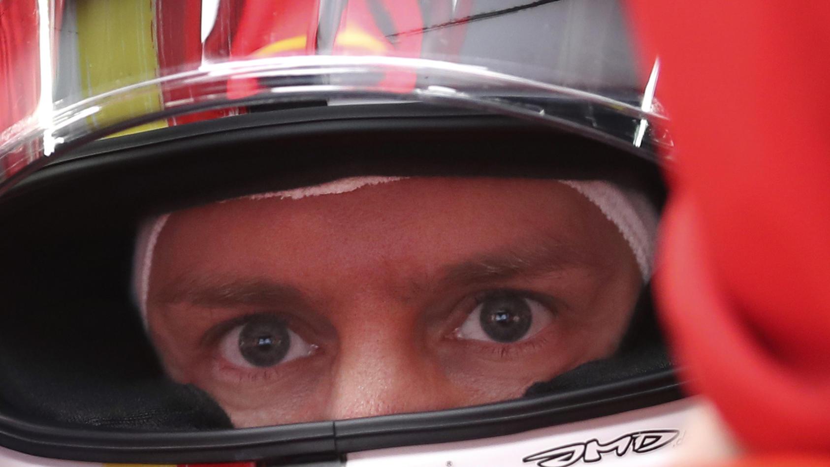 Guckte in China in die Röhre: Sebastian Vettel