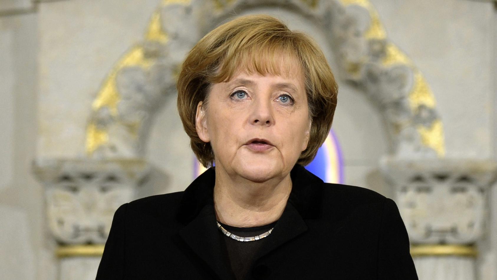Merkel beklagt Antisemitismus in Deutschland.