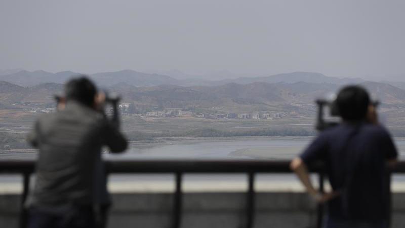 Ausblick nach Nordkorea