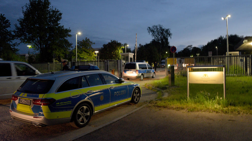 Polizeieinsatz in der Asylunterkunft in Ellwangen