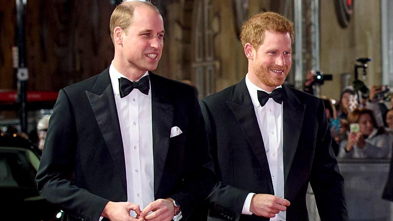 Prinz William und Bruder Harry gehen getrennte Wege.