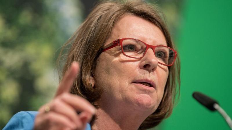 Priska Hinz, Umweltministerin in Hessen (Bündnis 90/Die Grünen).