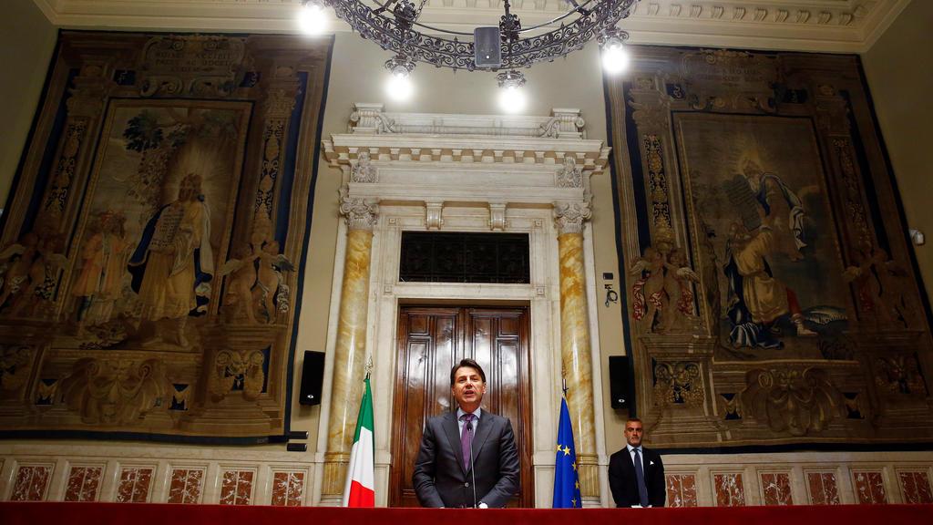 Italiens designierter Ministerpräsident Giuseppe Conte