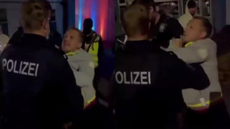 """""""Es ist etwas Unglaubliches passiert"""" - Eklat bei Pietro-Konzert: Polizei führt Oliver Pocher ab"""