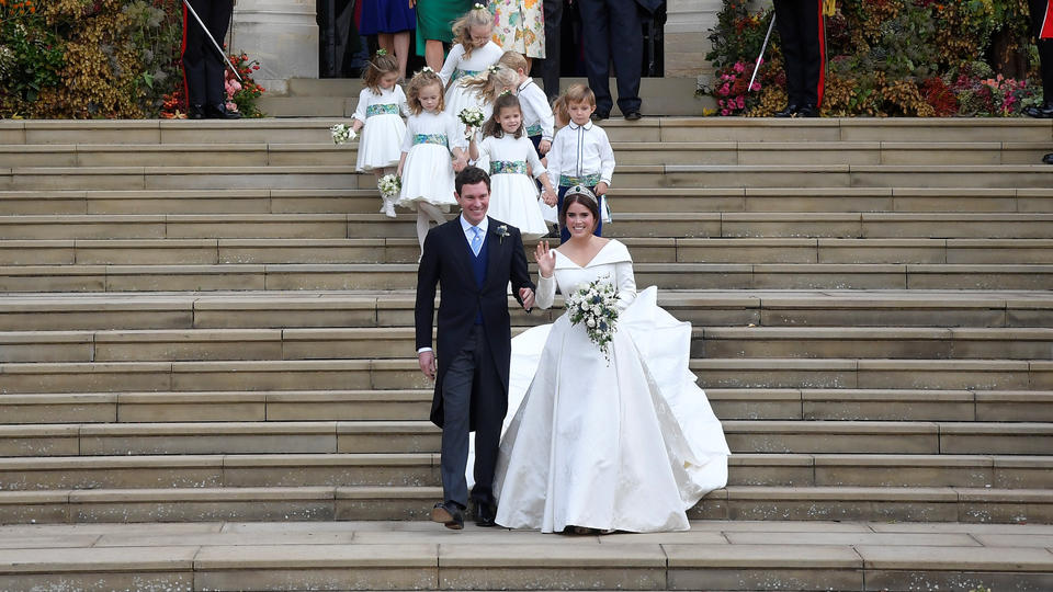 Prinzessin Eugenie heiratet ihren Jack Brooksbank