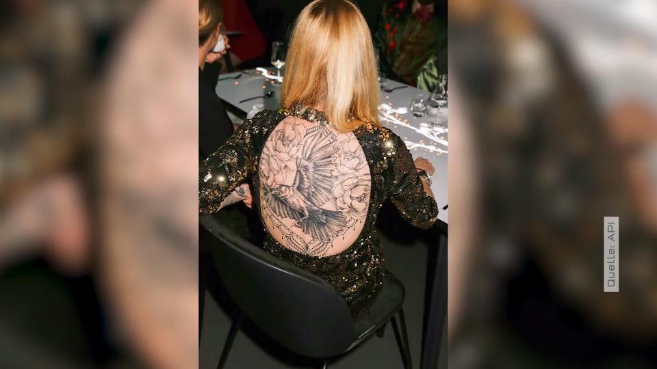 Mirja Du Mont Tattoo