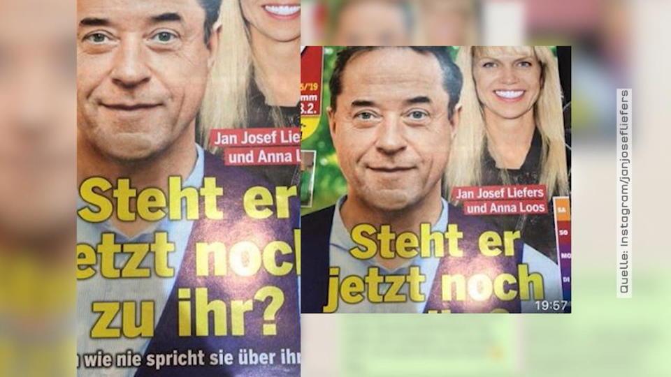 Jan Josef Liefers Wut über Titelschlagzeile Video Vipde