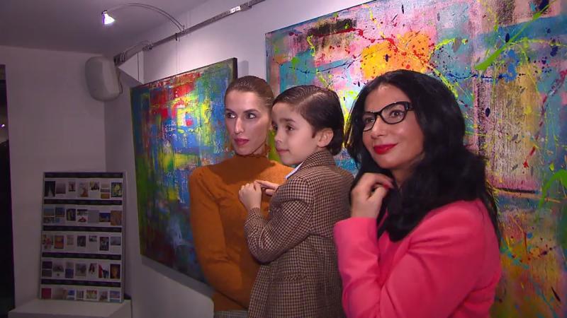 Wunderkind Mikail Akar 6 Jähriger Malt Bilder Die Tausende Von
