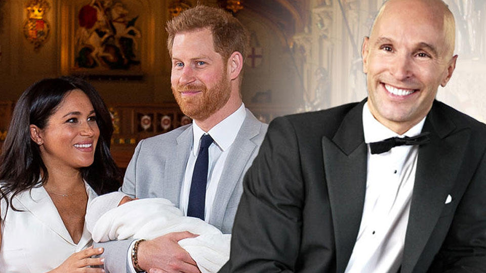 d5bce3ee71 Deshalb hielt Prinz Harry Baby Archie - und nicht Mama Meghan